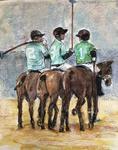 paardenpolo op het Museumplein  (2)